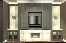fireplace side cabinets old room stone