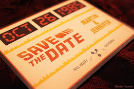 Save The Date No Photo Future Boy Save The Date