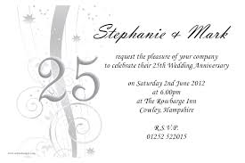 25th wedding anniversary invitations along with impressive invitation template for your special wedding invitation template 8