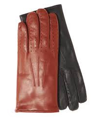 men s italian winter lambskin driving gloves lined in cashmere