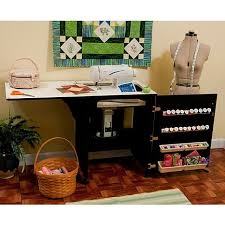 Arrow pact Airlift Sewing Machine Cabinet Black