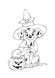Small Picture Dalmation Free Halloween Coloring Pages Disney Hallowen Coloring