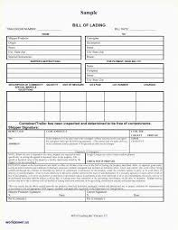 Word Bill Of Lading Template 24 Best Bill Of Lading Form Free Best Form Map Picture