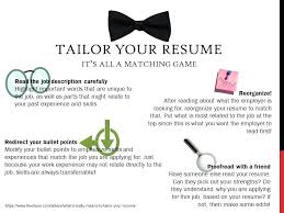 tailor resume tailor your resume blog post how to tailor your resume for a  sales job