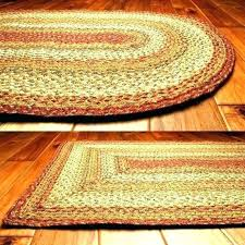small cotton braided rugs flower crochet natural jute rug handmade where to oval large