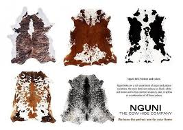 ni cow hide floor rugs cape town central western cape south africa