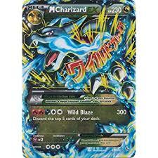 pokemon mega charizard 69 xy flashfire holo