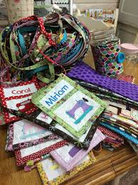 78 best Quilt Retreat Ideas images on Pinterest | Quilt tutorials ... & Quilt retreat favors! Ready to go! Adamdwight.com