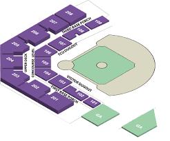 Tcu Baseball Field Seating Chart Tcu Lupton Stadium Seating Chart Best Picture Of Chart