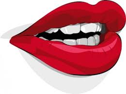 lips mouth clip art free vector in open