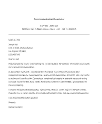 Cover Letter For Office Administrative Assistant Resume Sample Web