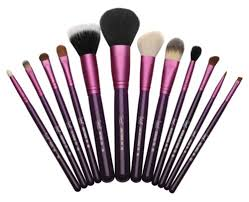 12 brush kit make me crazy in purple by sigmabeauty 109