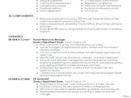 Hr Resume Examples Medium Small Hr Manager Resume Sample Download ...
