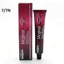 Loreal Professional Hair Color Chart Majirel Loreal Professional Majirel Ionene G Incell Permanent Creme Color 7 7n