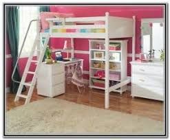 Kids bunk beds with desk underneath 2