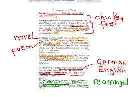 Samples Of Compare And Contrast Thesis Statements 10 Good