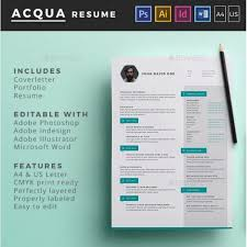 Best Free Resume Templates In Psd And Ai In 40 Colorlib Inspiration Illustrator Resume