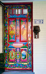 Painted Boho Door Told the Renaissance Man that THIS is why we need our own  house