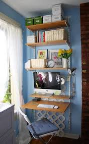 tiny office space. Create A Dual Home Office Space With This Great Budget Friendly Idea\u2026 Using Standard Bookcase, Table Top And Two Sets Of Legs, An For Tiny