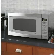 ge profile series 2 2 cu ft 1200 watt countertop microwave stainless steel nib