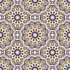 Bohemian Pattern Gorgeous Vector Ethnic Colorful Bohemian Pattern In Bright Colors With