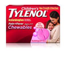 Childrens Tylenol Chewables Tylenol