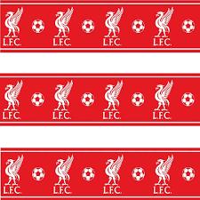 Liverpool Fc Bedroom Accessories Liverpool Lfc Childrens Kids Football Wallpaper Border