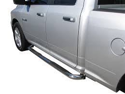 02 - 08 DODGE RAM 1500 2500 3500 CREW CAB SIDE STEP NERF BARS 3 ...