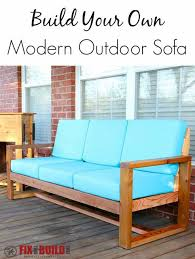 adorable diy outdoor sofa free diy plans gray house studio