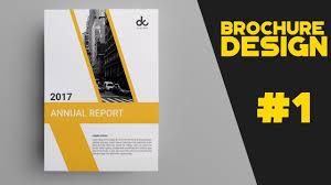 1 How To Design Brochure In Photoshop Cs6 Brochure Datasheet Design Tutorial