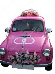 Wedding Name Board Design For Car Pink Wedding Car Stock Photo Azgek1978 1671690
