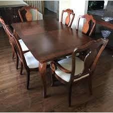 vintage thomasville dining room furniture homey ideas dining room furniture table chairs w leaves image 3