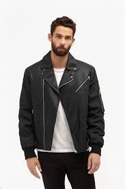 free wheeler faux leather jacket loading images