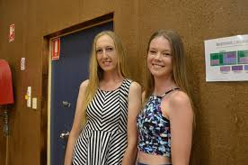 Class of 2014's Amy Sanders and Carly Smith came back ... | Buy Photos  Online | Sunshine Coast Daily