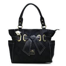 Bag · Coach Poppy Bowknot Signature Medium Black ...