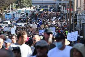 Maybe you would like to learn more about one of these? Anti Lockdown Protest Hundreds Flock Sydney Streets To Protest The City S Covid 19 Stay At Home Orders 7news
