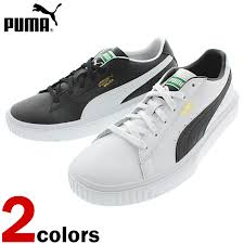 puma puma sneakers breaker leather breaker lthr 366078 puma black puma white 01