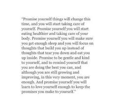 Promise Yourself Quotes