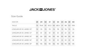 Jack And Jones Shirt Size Chart Buy Jack Jones Slim Fit Jeans Jeans For Men Untriedshop