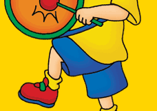 memory game find gilbert magic keyboard caillou playing the drum
