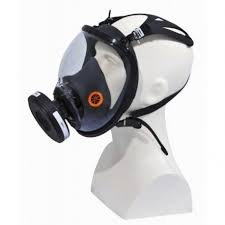 Gas Mask For Chemical Risks Nose Mouth And Eyes Respiratory Protection Bronchi Protection Professional Respiratory Potection Sy Eclats Antivols