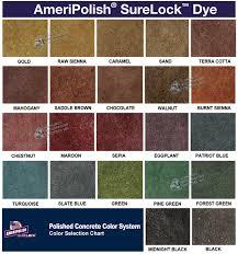 Kemiko Color Chart Incredible Concrete Floor Stain Color Blending Acid The