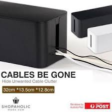 Image is loading Cable-Storage-Box-Wire-Cable-Management-Socket-Safety-
