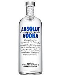 absolut vodka 1l dan murphy s wine chagne beer spirits