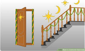 image titled decorate. Image Titled Decorate Over Doorways And Even Stairs With Greenery Step 2 On Saturnalia