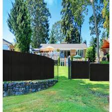 boen 5 ft x 50 ft green privacy fence