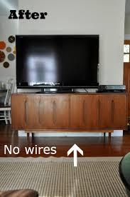 hide tv furniture. wires hidden behind ttv cabinet hide tv furniture