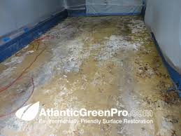 before we re regularly brought in to projects like this one where paint as well as carpet and vinyl floor glue have to be removed from concrete