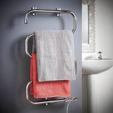 bathroom radiators towel chrome electric
