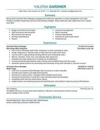 Assistant Manager Resume Mesmerizing Retail Assistant Manager Resume Luxury Assistant Store Manager